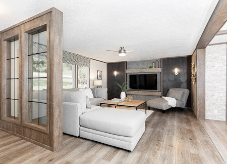 About MCM Homes: Living Room